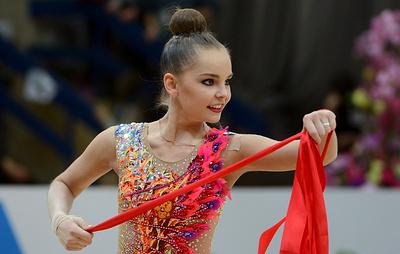 Волнение сказалось на результате гимнастки Арины Авериной на этапе Гран-при в Москве