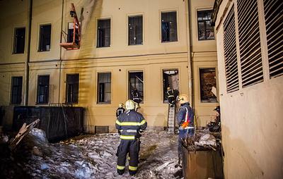 Обрушение в здании ИТМО в Петербурге произошло из-за перегруза конструкций