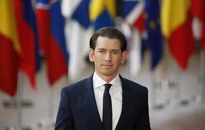Канцлер Австрии перед визитом в США напомнил о хороших контактах с Россией