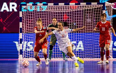Женская сборная России по мини-футболу обыграла команду Украины в матче за бронзу ЧЕ