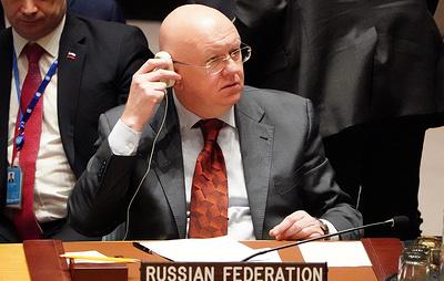 """Небензя назвал реальным препятствием к миру на Украине """"ложь Киева"""""""