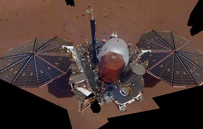 Forbes: станция Mars InSight зафиксировала необычный звук низкой частоты