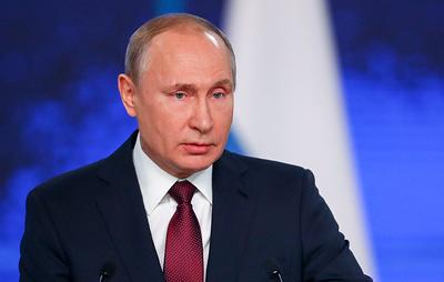 Путин поручил подготовить меры поддержки популярной молодежной музыки