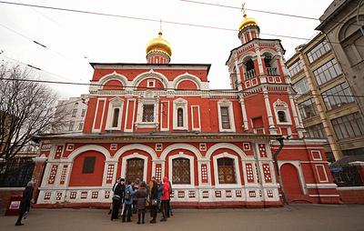 Власти Москвы согласовали проект реставрации церкви Всех Святых на Кулишках