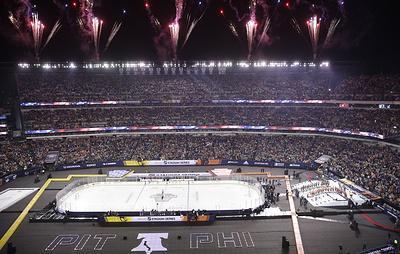"""Гол Малкина не спас """"Питтсбург"""" от проигрыша """"Филадельфии"""" в матче НХЛ на открытом воздухе"""