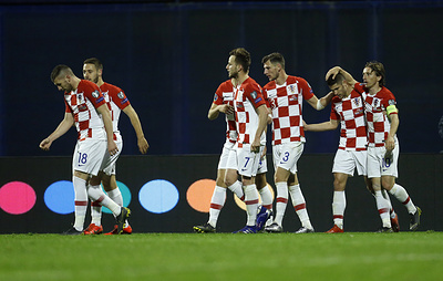 Сборная Хорватии одержала волевую победу над командой Азербайджана в матче отбора ЧЕ-2020