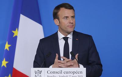 """""""Время европейской наивности истекло"""". Макрон призвал Евросоюз противостоять США и Китаю"""