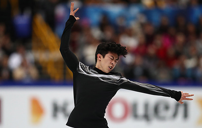Юдзуру Ханю установил мировой рекорд в произвольной программе на ЧМ в Японии