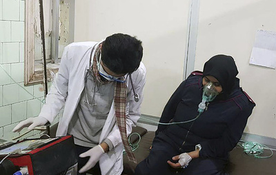 СМИ: более 20 человек госпитализированы в Сирии с симптомами отравления газом