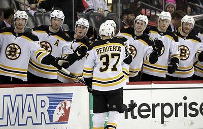 """""""Бостон"""" победил """"Флориду"""" в матче НХЛ и обеспечил себе путевку в плей-офф"""