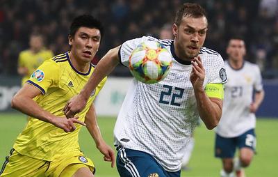 Сборная России по футболу одержала первую победу в отборочном турнире ЧЕ-2020