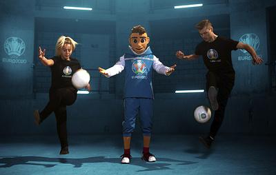 Мальчик Скиллзи стал талисманом чемпионата Европы по футболу 2020 года