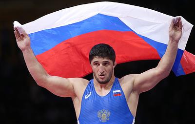 Российский борец Абдулрашид Садулаев завоевал золото чемпионата Европы