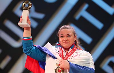 Сборная России триумфально выступила на ЧЕ по тяжелой атлетике в Грузии