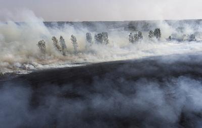 Число пострадавших во время пожаров в Забайкалье возросло до 23