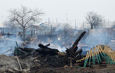 В Забайкалье ликвидировали все пожары в населенных пунктах