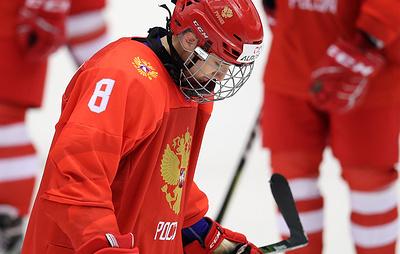 Сборная России проиграла команде США в матче юниорского чемпионата мира по хоккею