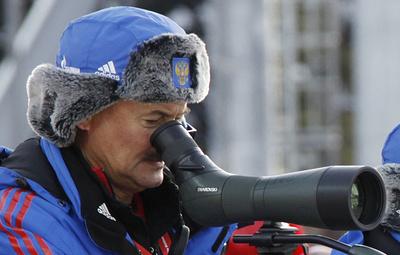Норицын и Хованцев сохранили посты главных тренеров сборных России по биатлону