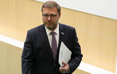"""Косачев назвал """"идеальной провокацией"""" скандал вокруг бывшего вице-канцлера Австрии"""