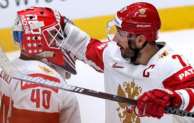 """Георгиев снова не пропустил. Российские хоккеисты одержали четвертую """"сухую"""" победу на ЧМ"""