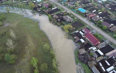 Количество подтопленных участков в селе Алтайского край увеличилось до 30