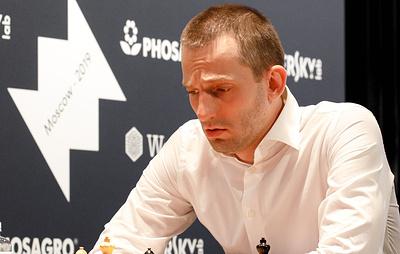 Александр Грищук стал первым финалистом этапа Гран-при FIDE в Москве