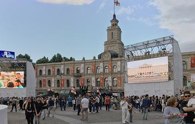 День независимости в Грузии отметили народными гуляниями