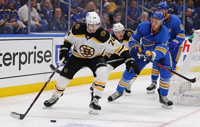 """В США стартует финальная серия плей-офф НХЛ между """"Бостоном"""" и """"Сент-Луисом"""""""