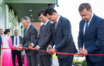 Офис почетного консула Республики Корея открылся в историческом особняке тюменского купца