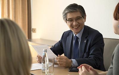 РАНХиГСпосетил Нобелевский лауреат профессор Рае Квон Чунг