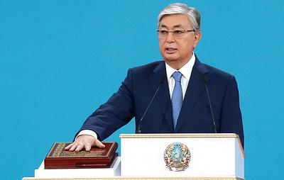 Токаев принес присягу и вступил в должность президента Казахстана