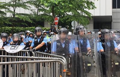 СМИ: протестные акции в Гонконге возобновятся 16 июня