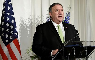 Помпео: США рассматривают все варианты противодействия Ирану в регионе