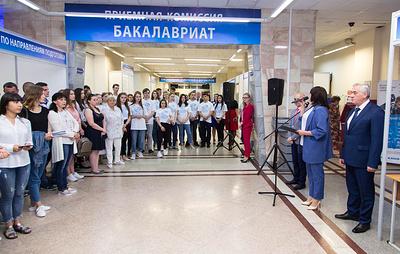 Приемная кампания стартовала в Уральском государственном экономическом университете