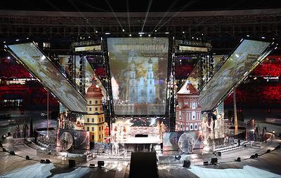 Церемония открытия II Европейских игр завершилась в Минске