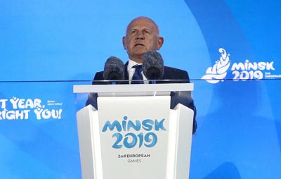 Глава ЕОК: Европейские игры в Минске помогут еще больше открыть Белоруссию миру