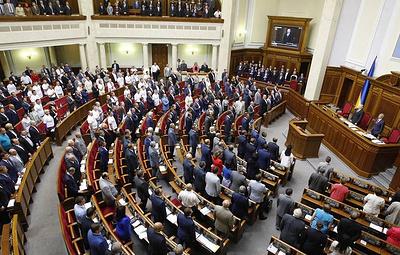 На Украине истек срок, отведенный для регистрации кандидатов на выборах в Раду