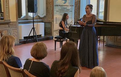 Российская оперная певица Светлана Касьян возобновила выступления в Риме