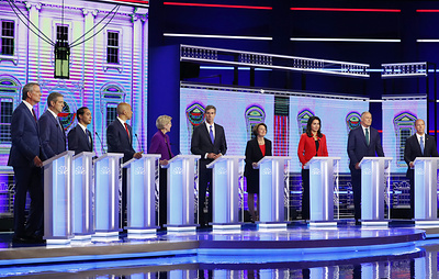 Участники теледебатов демократов назвали Китай и ядерное оружие главными угрозами США