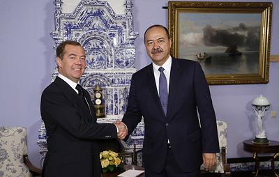 Медведев: РФ и Узбекистан настроены на тесное экономическое и политическое сотрудничество