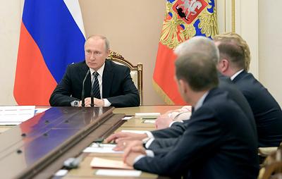 Путин обсудил с Совбезом отношения с Киевом с учетом разговора с Зеленским