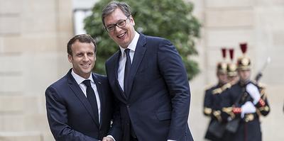 Пардон, Макрон. Сербия и Франция пробуют уладить дипломатический инцидент