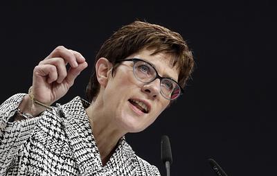 Биография нового министра обороны Германии
