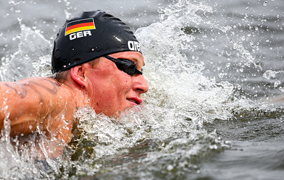 Сборная Германии выиграла золото в плавании на открытой воде на ЧМ по водным видам спорта