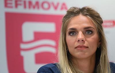 Пловчиха Ефимова прибыла в Южную Корею для участия на ЧМ по водным видам спорта