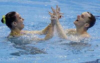 Синхронисты Гурбанбердиева и Мальцев одержали вторую победу на чемпионате мира