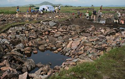 Археолог ожидает, что нынешний сезон раскопок на кургане Туннуг в Туве будет самым сложным