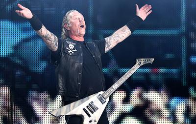 """Metallica исполнила """"Группу крови"""" на концерте в """"Лужниках"""""""