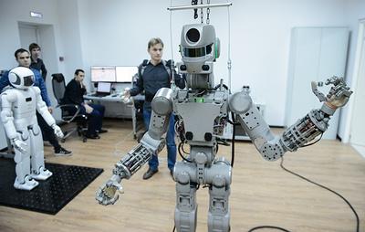 """Робот """"Федор"""" полетит на МКС в штатном кресле для космонавта"""