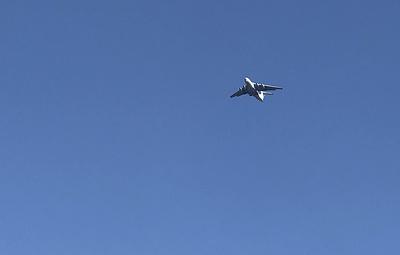 Самолеты Ил-76 задействуют в тушении пожара на артиллерийском складе в Красноярском крае